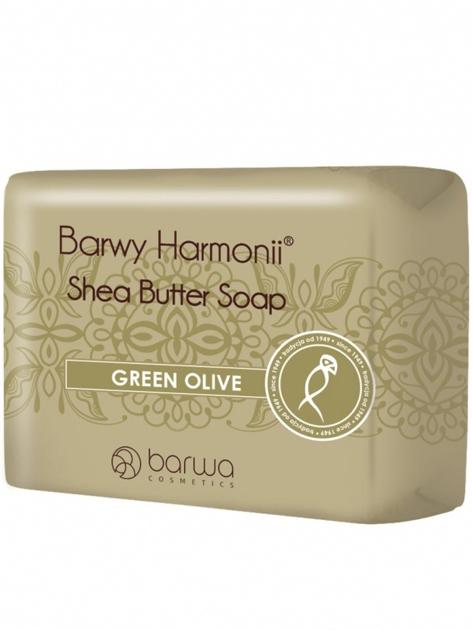 BARWA Barwy Harmonii Mydło w kostce Green Olive 190 g