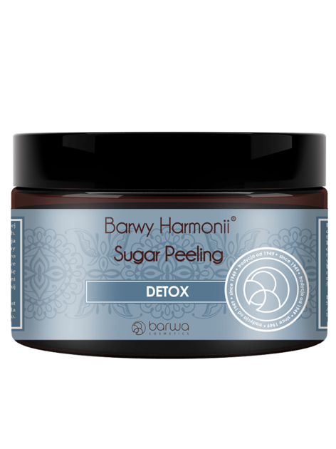 BARWA Barwy Harmonii Peeling cukrowy do ciała Detox 250 ml