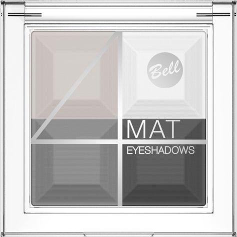 BELL 4 Mat Eyeshadows cień 02                              zdj.                              1
