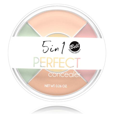 """BELL 5 in 1 Perfect Concealer korektor do twarzy"""""""