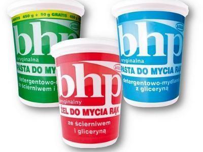 BHP Pasta do mycia rąk detergentowa-mydlana ze ścierniwem i gliceryną 500 g                              zdj.                              2
