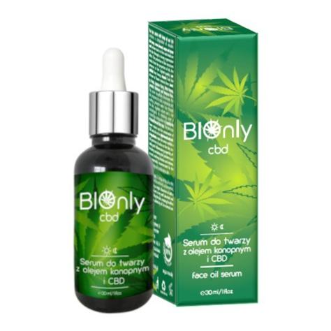 """BIOnly CBD Serum do twarzy z olejkiem konopnym  30ml"""""""