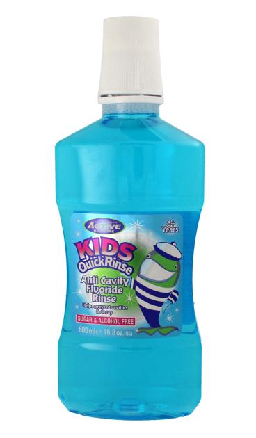 "Beauty Formulas Active Oral Care Płyn do płukania ust dla dzieci Quick Rinse  500ml"""