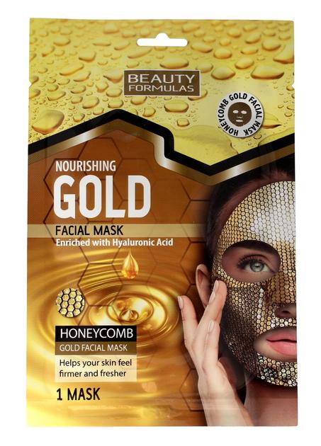 """Beauty Formulas Gold Złota Maseczka odżywcza na twarz  1szt"""""""