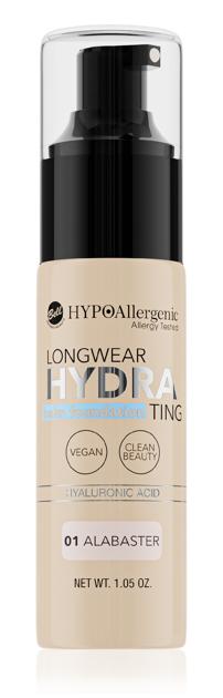 """Bell Hypoallergenic Podkład nawilżający Longwear Hydrating Balm Foundation nr 01  30g"""""""