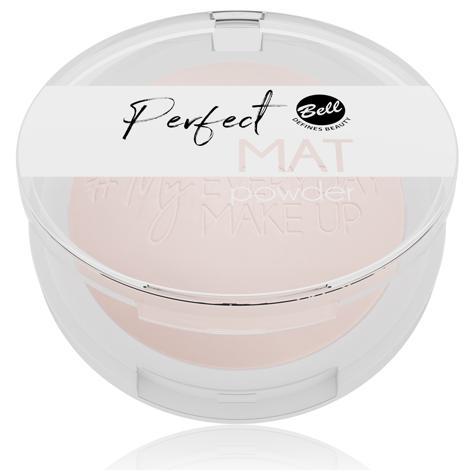 "Bell #My Everyday Make-Up Puder w kamieniu matujący Perfect Mat nr 01 Neutral Light 9g"""