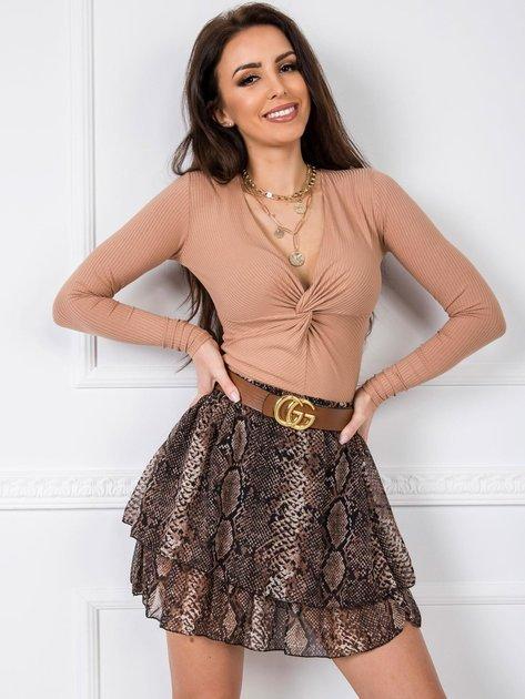 Beżowa bluzka Helen RUE PARIS