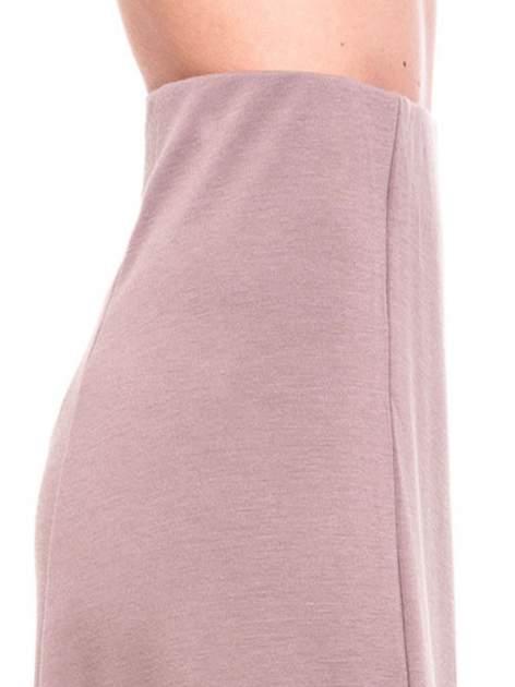 Beżowa elegancka spódnica midi o rozkloszowanym kroju                                  zdj.                                  5