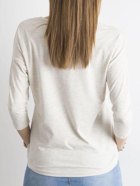 Beżowa bluzka April                              zdj.                              2