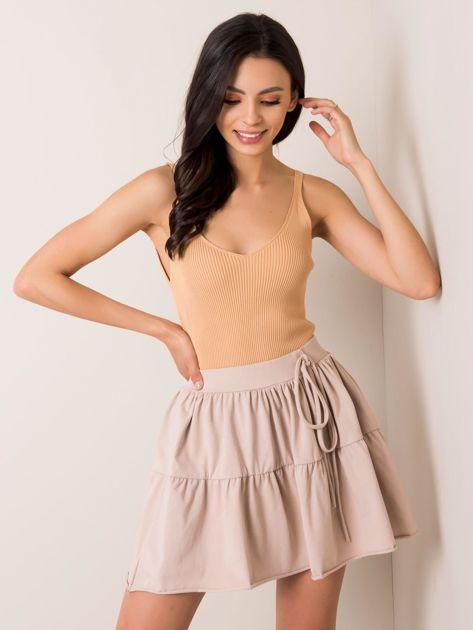 Beżowa spódnica Brigette RUE PARIS