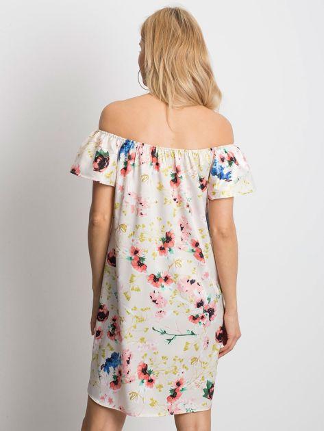 Beżowa sukienka Perfectly                              zdj.                              2