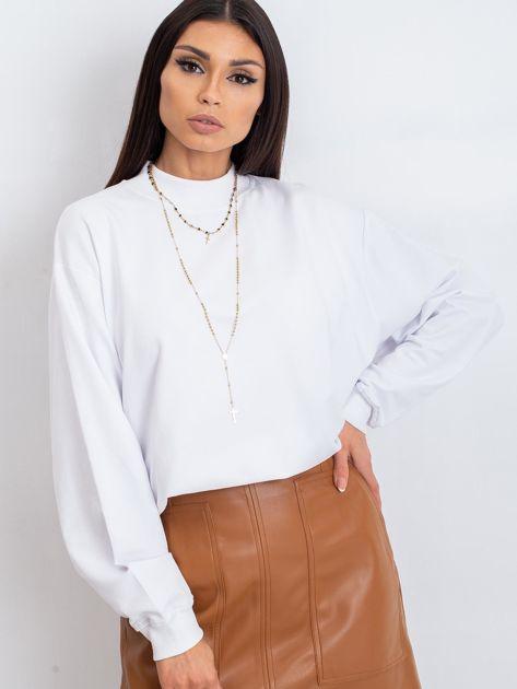 Biała bluza Twist                              zdj.                              5