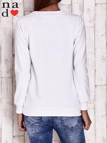 Biała bluza z piórkiem                                  zdj.                                  4
