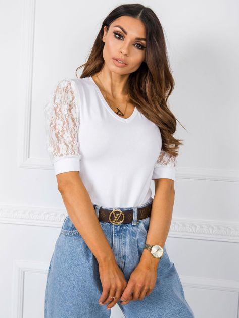Biała bluzka Angel RUE PARIS