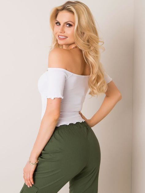 Biała bluzka Britney RUE PARIS
