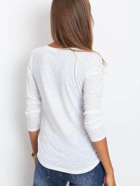 Biała bluzka Hello                              zdj.                              2