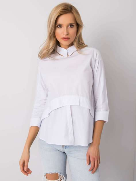 Biała bluzka Juana RUE PARIS
