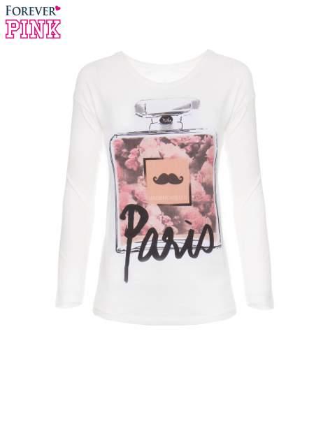 Biała bluzka z motywem Paryża                                  zdj.                                  5