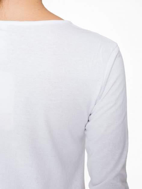 Biała bluzka z portretem Audrey Hepburn                                  zdj.                                  9