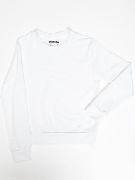 Biała bluza młodzieżowa                              zdj.                              1