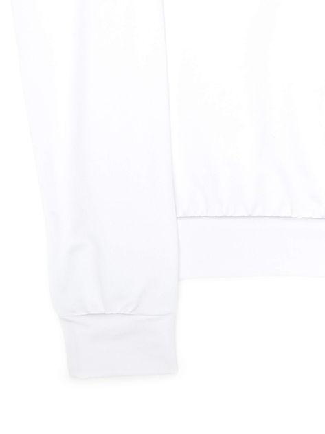 Biała bluza młodzieżowa                              zdj.                              4