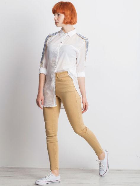 Biała koszula Secondly                              zdj.                              6