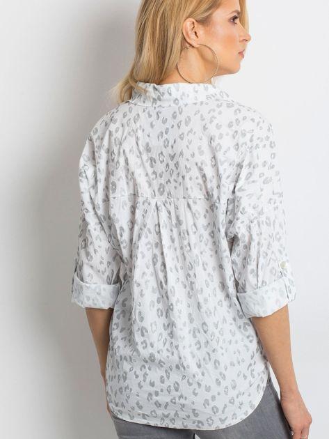 Biała koszula Stylish                              zdj.                              2