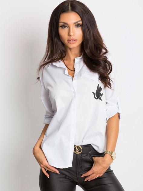 Biała koszula Together                              zdj.                              1