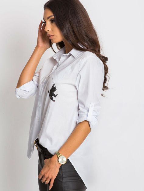Biała koszula Together                              zdj.                              6
