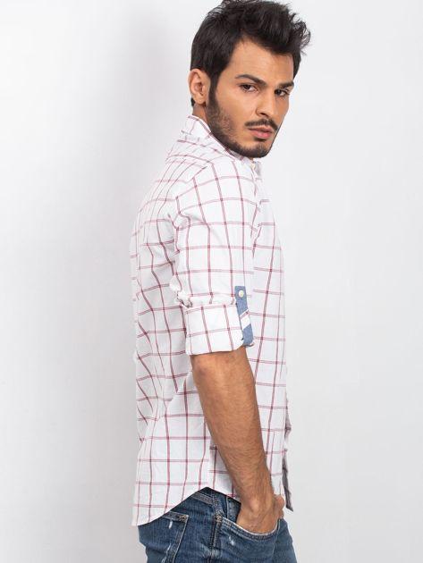 Biała koszula męska Fusion                              zdj.                              3