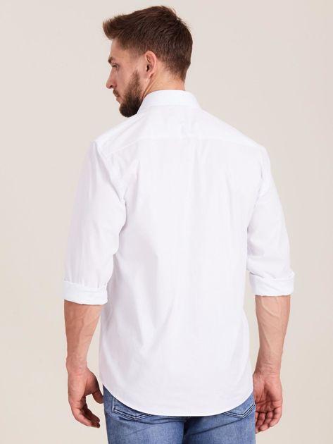 Biała koszula męska regular                              zdj.                              2