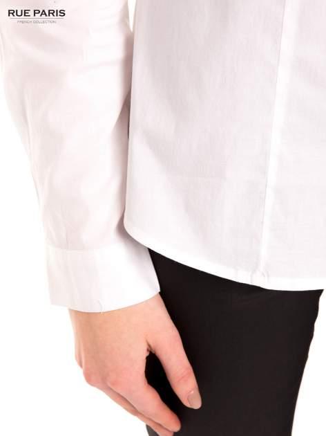 Biała koszula z efektem ombre                                  zdj.                                  6