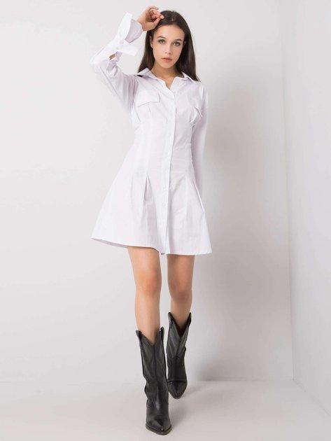 Biała sukienka Eulalia RUE PARIS