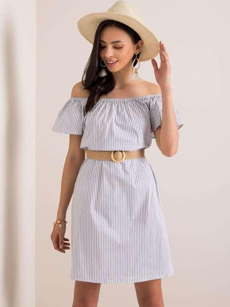 Biała sukienka Fabiola