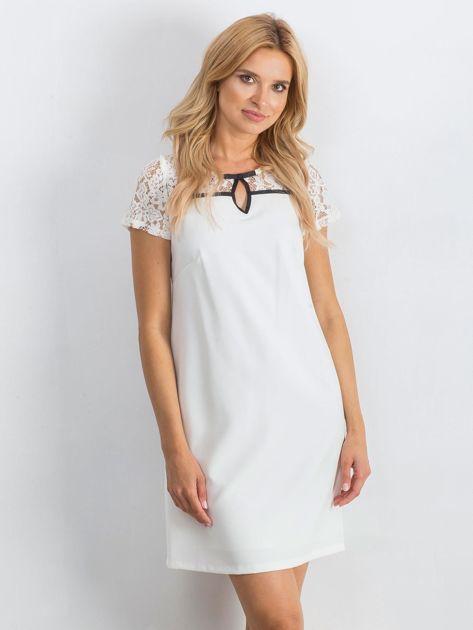 Biała sukienka Irresistible