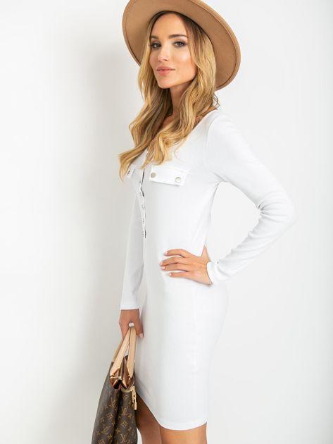Biała sukienka Juliet                              zdj.                              5