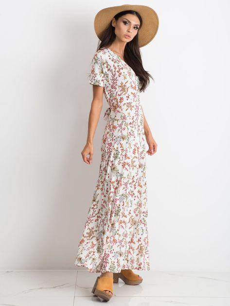 Biała sukienka Manufacturing                              zdj.                              4