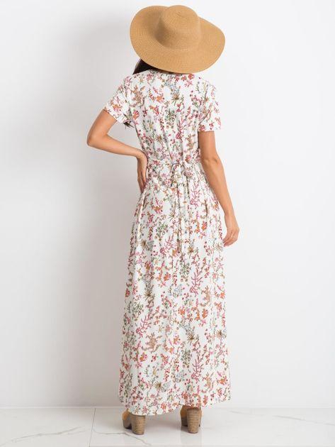 Biała sukienka Manufacturing                              zdj.                              2