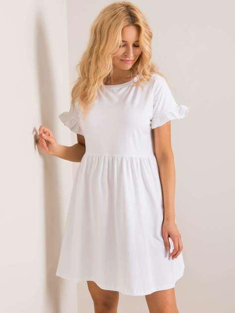 Biała sukienka Marietta RUE PARIS