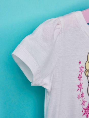 Biała sukienka dla dziewczynki KRAINA LODU                                  zdj.                                  5