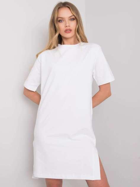 Biała sukienka na co dzień Mistee RUE PARIS