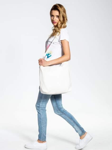Biała torba damska hobo                                  zdj.                                  6