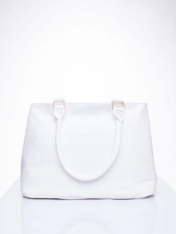 Biała torba miejska na ramię                                  zdj.                                  4