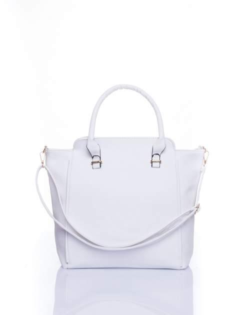 Biała torba shopper bag