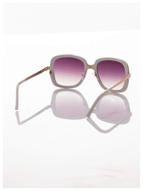 Białe eleganckie okulary                                  zdj.                                  2