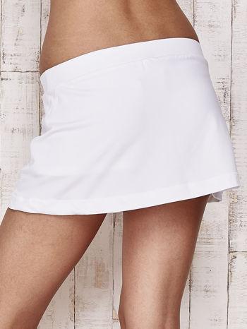 Białe gładkie spodenki spódniczka tenisowa                                   zdj.                                  7