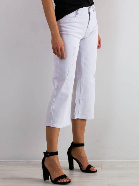 Białe jeansy Reasons                              zdj.                              3