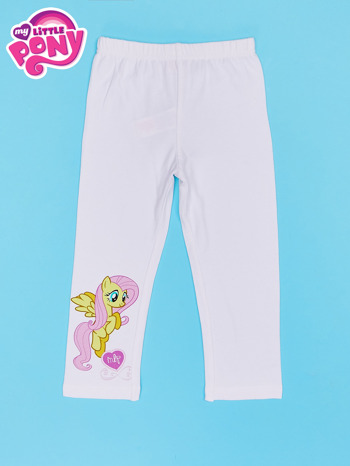 Białe legginsy dla dziewczynki MY LITTLE PONY                                  zdj.                                  1