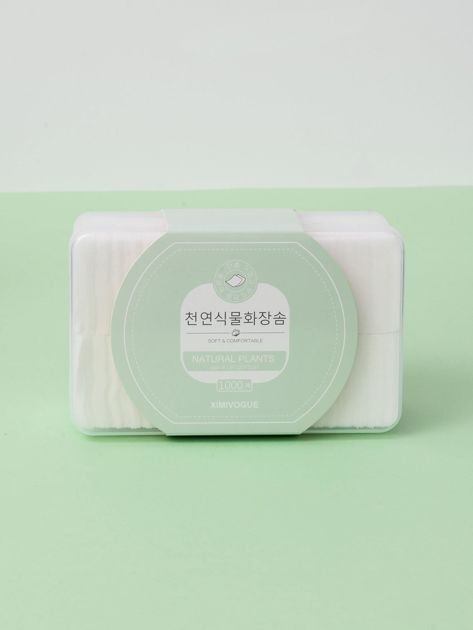 Białe płatki kosmetyczne bawełniane                              zdj.                              1