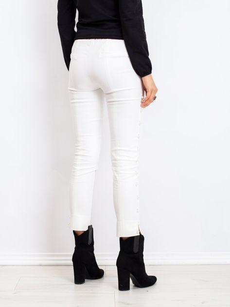 Białe spodnie Pearl                              zdj.                              2